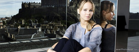 Jennifer Lawrence Glass, Free Facebook Timeline Profile Cover, Celebrity
