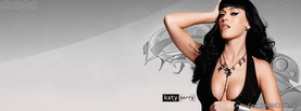 Katy Perry Black, Free Facebook Timeline Profile Cover, Celebrity