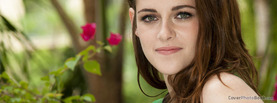 Kristen Stewart Flowers, Free Facebook Timeline Profile Cover, Celebrity