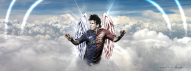 Lionel Messi Angel Clouds, Free Facebook Timeline Profile Cover, Celebrity