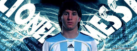Lionel Messi Argentina, Free Facebook Timeline Profile Cover, Celebrity