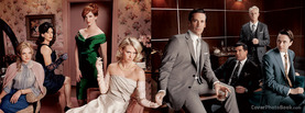 Mad Men Stars, Free Facebook Timeline Profile Cover, Celebrity