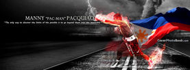 Manny 'Pac Man' Pacquiao - Fire Punch, Free Facebook Timeline Profile Cover, Celebrity