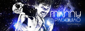 Manny Pacquiao - Blue Water Fire Punch, Free Facebook Timeline Profile Cover, Celebrity