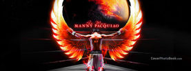 Manny Pacquiao Fire Angel Wings, Free Facebook Timeline Profile Cover, Celebrity
