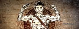 Manny Pacquiao Singer Illustration, Free Facebook Timeline Profile Cover, Celebrity