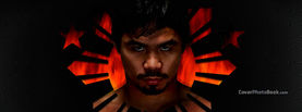 Manny Pacquiao in Philippine Symbol, Free Facebook Timeline Profile Cover, Celebrity