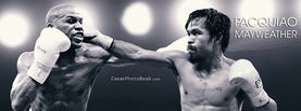Manny Pacquiao vs Floyd Mayweather Jr Clash, Free Facebook Timeline Profile Cover, Celebrity