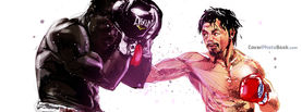 Manny Pacquiao vs Joshua Clottey, Free Facebook Timeline Profile Cover, Celebrity