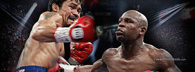 Mayweather Punching Pacquiao, Free Facebook Timeline Profile Cover, Celebrity