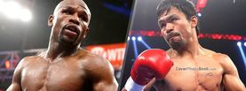 Mayweather and Pacquiao Prepare to Fight, Free Facebook Timeline Profile Cover, Celebrity