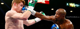 Mayweather vs Alvarez Nose Punch, Free Facebook Timeline Profile Cover, Celebrity