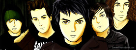 My Chemical Romance Cartoon, Free Facebook Timeline Profile Cover, Celebrity