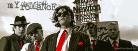 My Chemical Romance Red Black White, Free Facebook Timeline Profile Cover, Celebrity