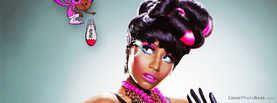 Nicki Minaj Cartoon Bomb, Free Facebook Timeline Profile Cover, Celebrity