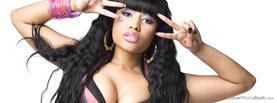 Nicki Minaj Peace, Free Facebook Timeline Profile Cover, Celebrity