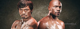 Pacquiao vs Mayweather Back to Back, Free Facebook Timeline Profile Cover, Celebrity