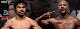 Pacquiao vs Mayweather Pose, Free Facebook Timeline Profile Cover, Celebrity
