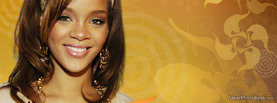 Rihanna Smile, Free Facebook Timeline Profile Cover, Celebrity