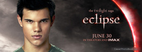 Taylor Lautner Twilight Eclipse, Free Facebook Timeline Profile Cover, Celebrity