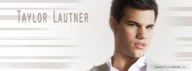 Taylor Lautner White, Free Facebook Timeline Profile Cover, Celebrity
