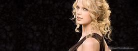 Taylor Swift Black, Free Facebook Timeline Profile Cover, Celebrity