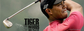 Tiger Woods Golf Player, Free Facebook Timeline Profile Cover, Celebrity
