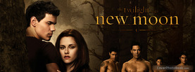 Twilight New Moon, Free Facebook Timeline Profile Cover, Celebrity