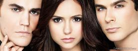 Vampire Diaries Stefan Elena Damon, Free Facebook Timeline Profile Cover, Celebrity