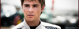 Zac Efron Racing, Free Facebook Timeline Profile Cover, Celebrity