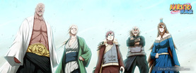 5 Kages Naruto, Free Facebook Timeline Profile Cover, Characters