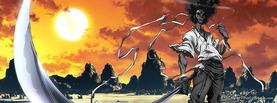 Afro Samurai Sunset Desert, Free Facebook Timeline Profile Cover, Characters