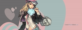 Anime Girl Fashion, Free Facebook Timeline Profile Cover, Characters