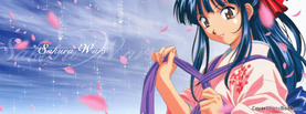 Anime Girl Mikio Kimono, Free Facebook Timeline Profile Cover, Characters