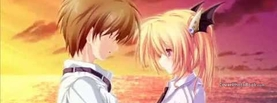 Anime in Love at Sunset, Free Facebook Timeline Profile Cover, Characters
