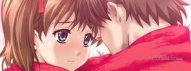 Cute Anime Valentine Couple Picture, Free Facebook Timeline Profile Cover, Characters