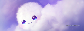 Cute Kawaii Puffball Clouds, Free Facebook Timeline Profile Cover, Characters