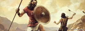 David Vs Goliath, Free Facebook Timeline Profile Cover, Characters