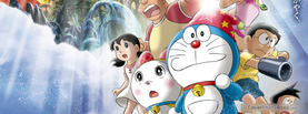 Doraemon Team, Free Facebook Timeline Profile Cover, Characters