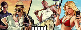 GTA 5 Characters, Free Facebook Timeline Profile Cover, Characters