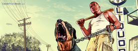 GTA Man and Dog, Free Facebook Timeline Profile Cover, Characters