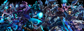 League of Legends Characters, Free Facebook Timeline Profile Cover, Characters