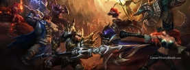 League of Legends Fight, Free Facebook Timeline Profile Cover, Characters
