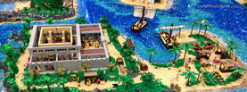 Lego Beach, Free Facebook Timeline Profile Cover, Characters