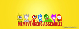 Memevengers Assemble, Free Facebook Timeline Profile Cover, Characters