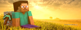 Minecraft Desert, Free Facebook Timeline Profile Cover, Characters