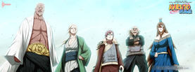 Naruto 5 Kages, Free Facebook Timeline Profile Cover, Characters