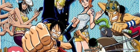 One Piece Gang, Free Facebook Timeline Profile Cover, Characters