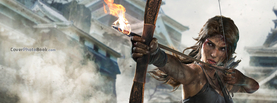 Rise of the Tomb Raider Bow and Arrow, Free Facebook Timeline Profile Cover, Characters