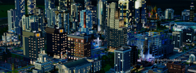 Sims City Night, Free Facebook Timeline Profile Cover, Characters
